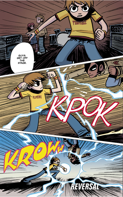 Scott Pilgrim Vol. 1 HC preview page 130