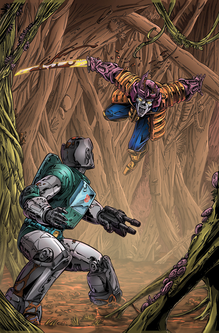 Transformers: Regeneration One #81 page 1