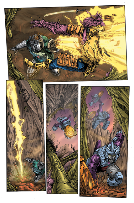Transformers: Regeneration One #81 page 2