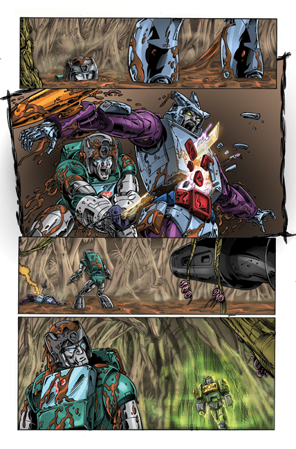 Transformers: Regeneration One #81 page 3