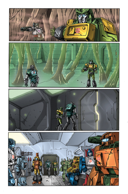 Transformers: Regeneration One #81 page 4