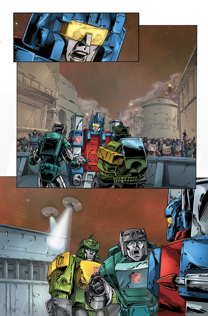 Transformers: Regeneration One #81 page 5