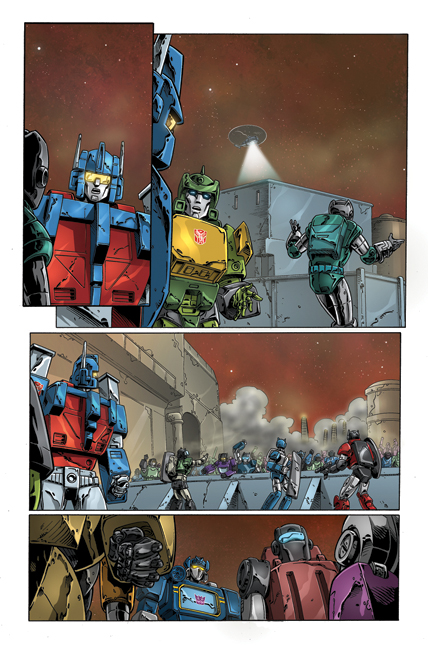 Transformers: Regeneration One #81 page 6