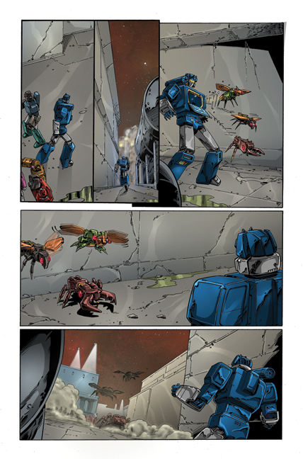 Transformers: Regeneration One #81 page 7