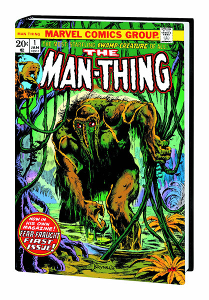 The Man-Thing Omnibus (Brunner Cover)