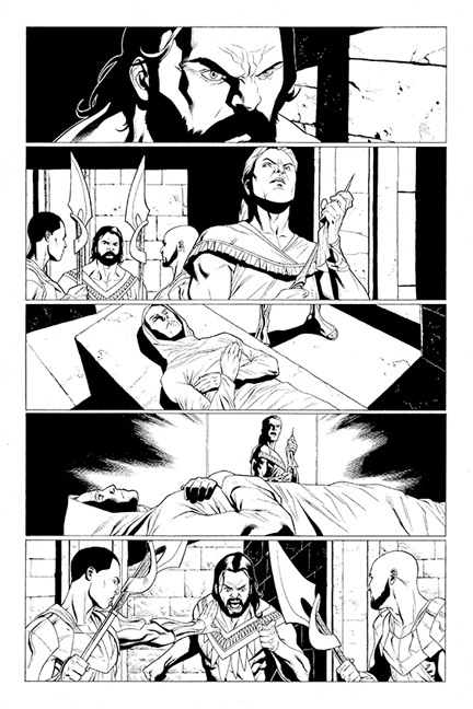 Archer & Armstrong #1 preview page 1