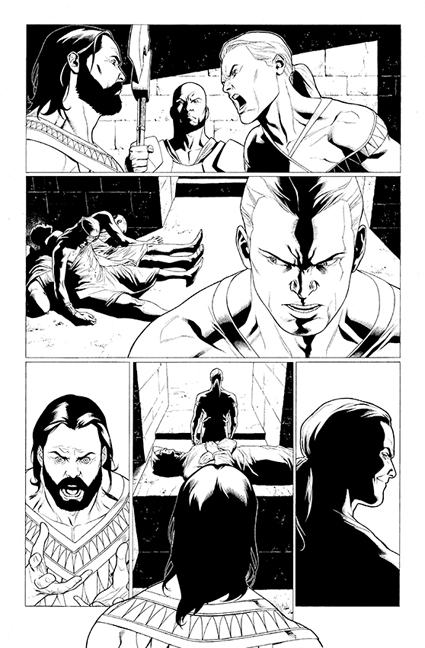 Archer &amp; Armstrong #1 preview page 2