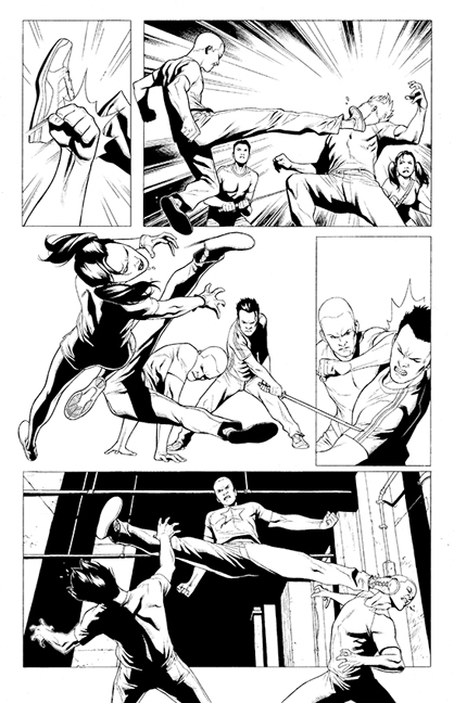 Archer & Armstrong #1 preview page 3