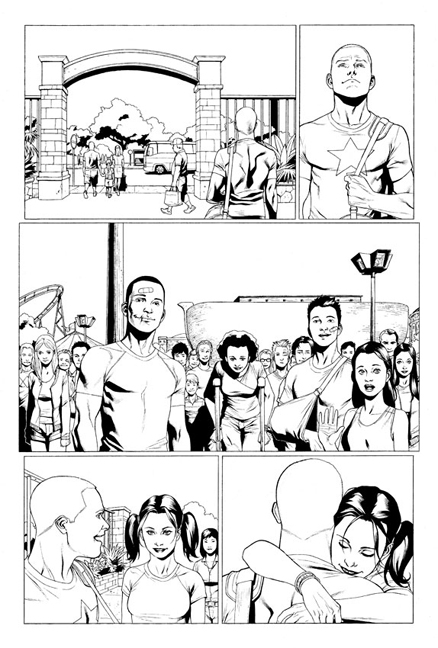 Archer & Armstrong #1 preview page 4