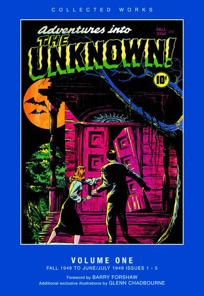 ACG Collected Works: Adventures Into the Unknown Vol. 01