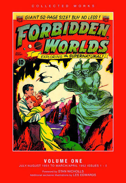 ACG Collected Works: Forbidden Worlds Vol. 01