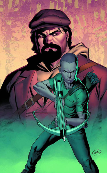 Archer &amp; Armstrong #1 Clayton Henry cover