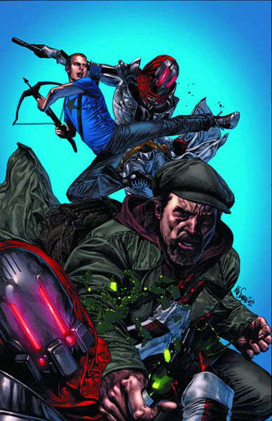 Archer & Armstrong #1 Mico Suayan cover