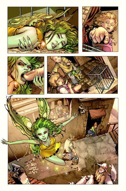 Damsels #1 preview page 1