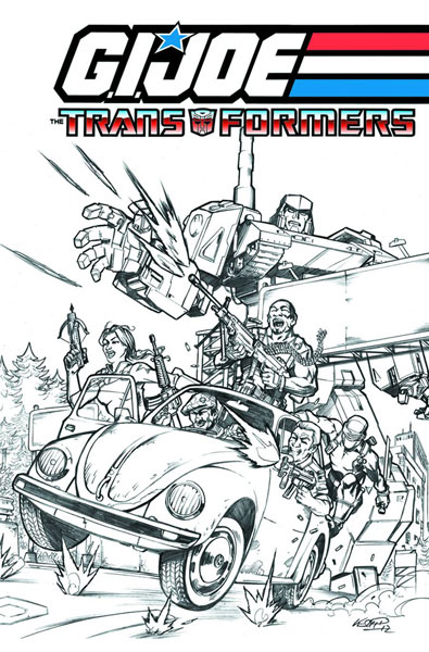 GI Joe / Transformers Crossover Vol 1