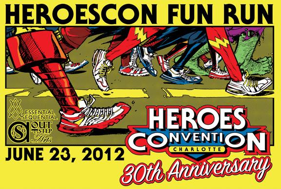 HeroesCon Fun Run