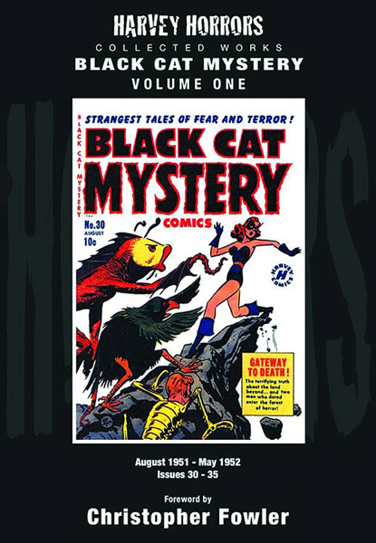Harvey Horrors Collected Works: Black Cat Mystery Vol. 01