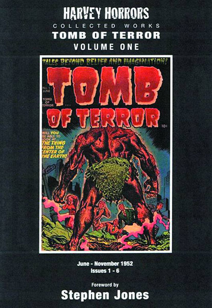 Harvey Horrors Collected Works: Tomb of Terror Vol. 01