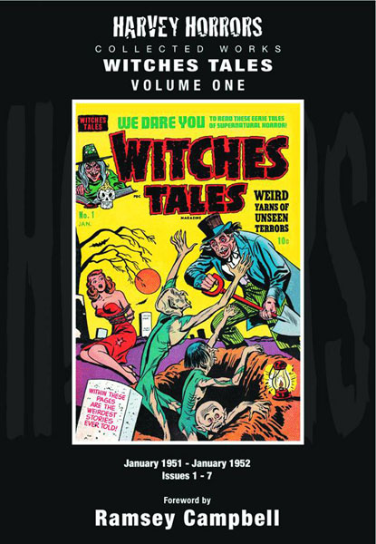 Harvey Horrors Collected Works: Witches Tales Vol. 01
