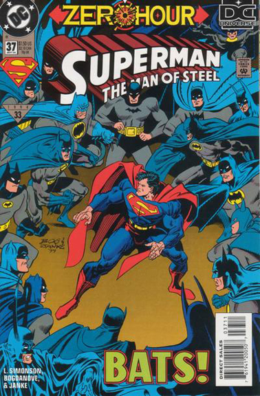 Superman: The Man of Steel #37