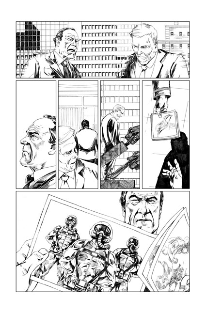 Peter Cannon: Thunderbolt #1 preview page 17 by Jonathan Lau