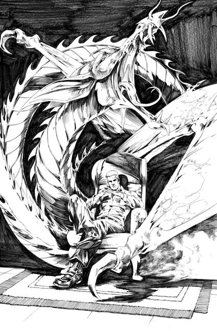 Peter Cannon: Thunderbolt #1 preview page 22 by Jonathan Lau