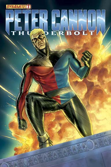 Peter Cannon: Thunderbolt #1 cover by John Cassaday