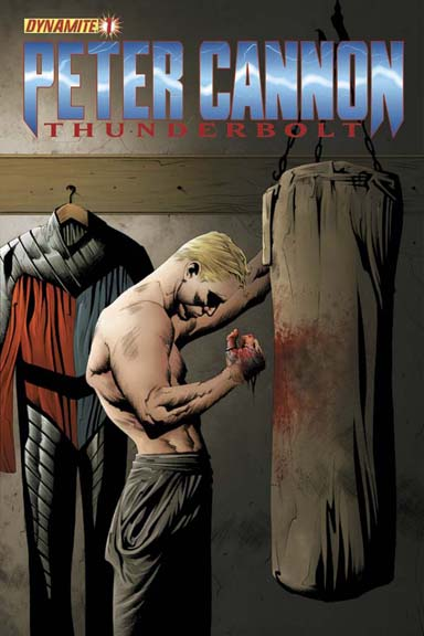 Peter Cannon: Thunderbolt #1 cover by Jae Lee