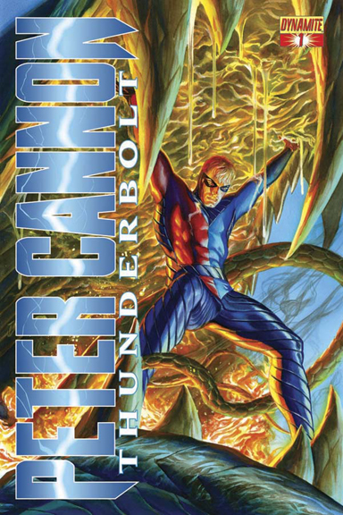 Peter Cannon: Thunderbolt #1 cover by Alex Ross