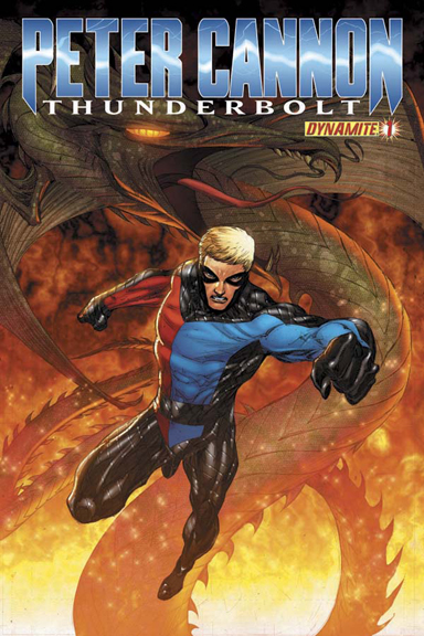 Peter Cannon: Thunderbolt #1 cover by Adrian Syaf