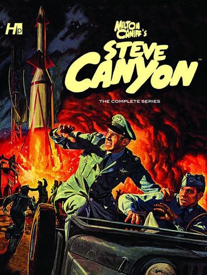 Steve Canyon: The Complete Comic Book Series Vol. 01