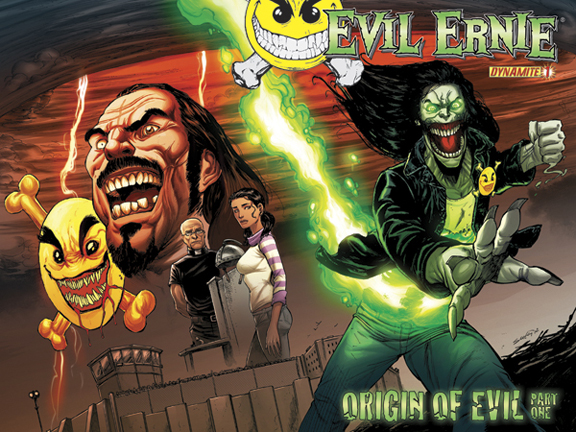 Evil Ernie #1 cover by Tim Seeley