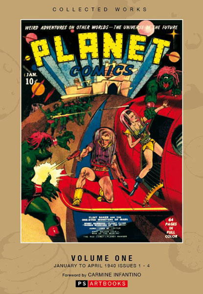 Fiction House Collected Works: Planet Comics Vol. 1