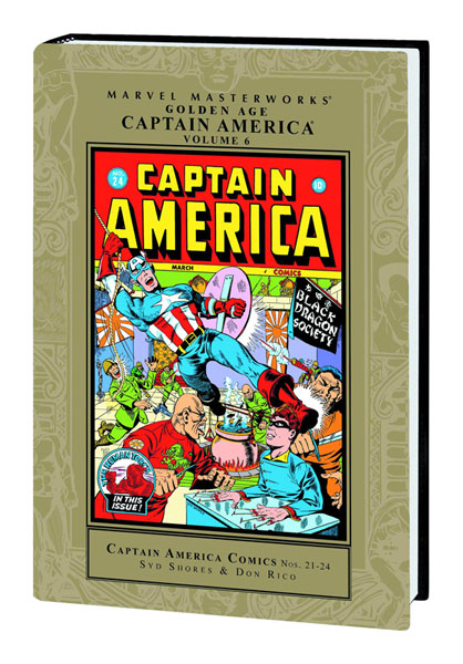 Marvel Masterworks: Golden Age Captain America Vol. 6