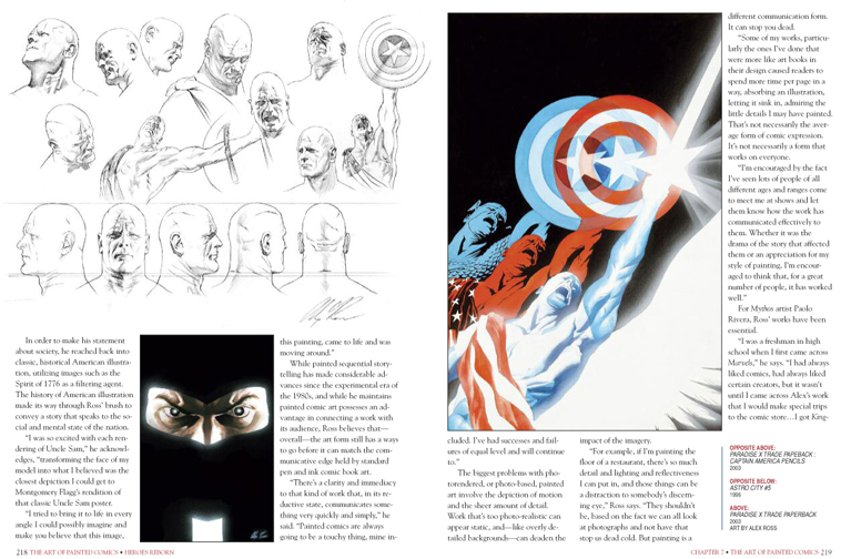 The Art of Painted Comics preview page 3