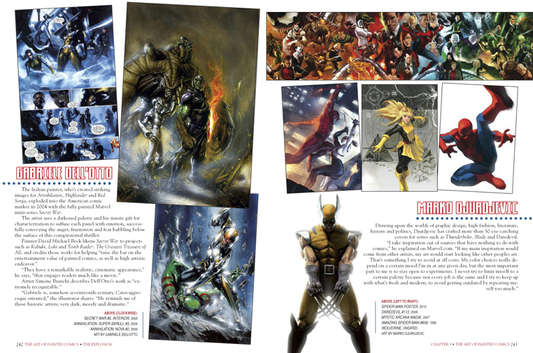 The Art of Painted Comics preview page 4
