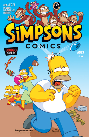 Simpsons Comics #192