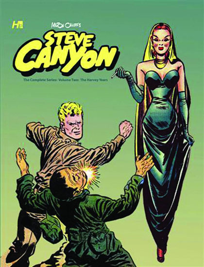 Steve Canyon: The Complete Comic Book Series Vol. 2