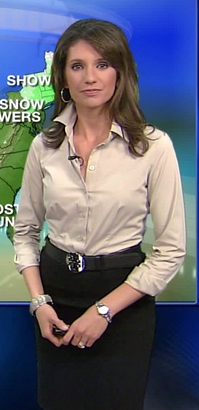 The Lovely Maria LaRosa From The Weather Channel