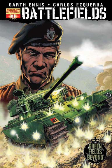 Battlefields #1: The Green Fields Beyond Part 1 cover by Gary Leach