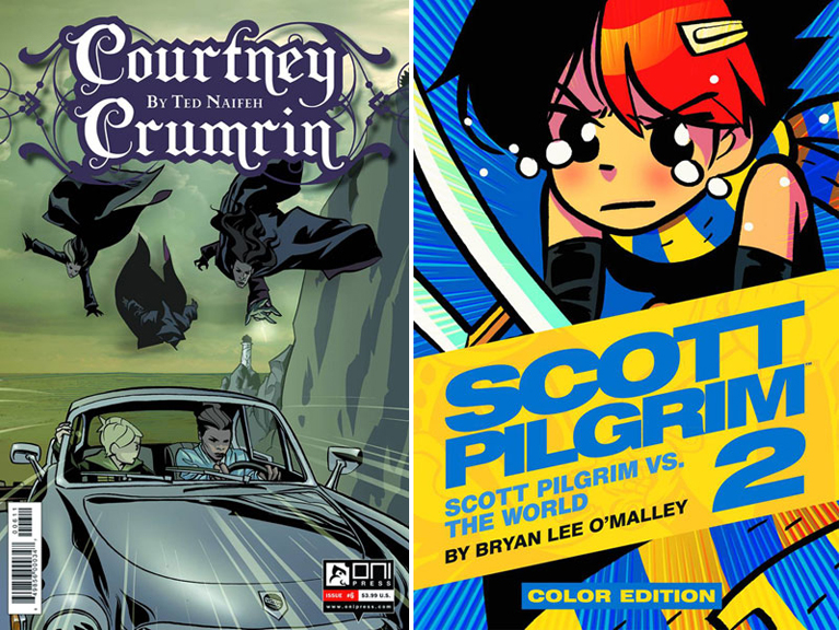 Courtney Crumrin &amp; Scott Pilgrim