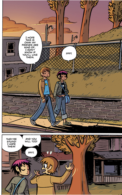 Scott Pilgrim Color Vol. 2 preview 5