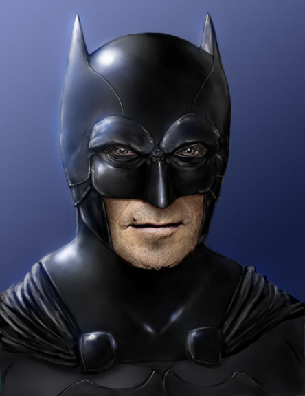 """I'm Batman....Get Off My Lawn!"""