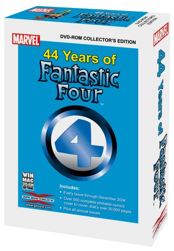 GIT's 44 Years of the Fantastic Four DVD-Rom
