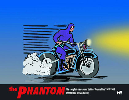 The Phantom: The Complete Newspaper Dailies Volume 5: 1943-44