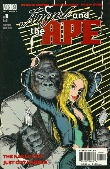 Angel and the Ape #1 (2001). Cover by Arthur Adams.