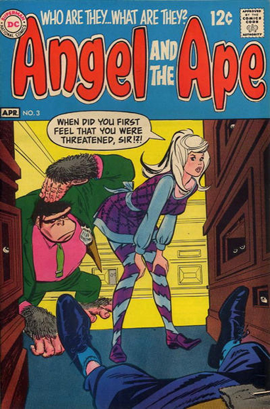 Angel and the Ape #3. Cover by Bob Oksner.