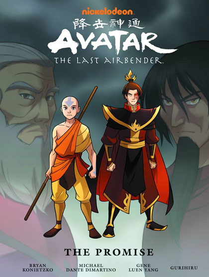 Avatar the Last Airbender -- The Promise Library Edition