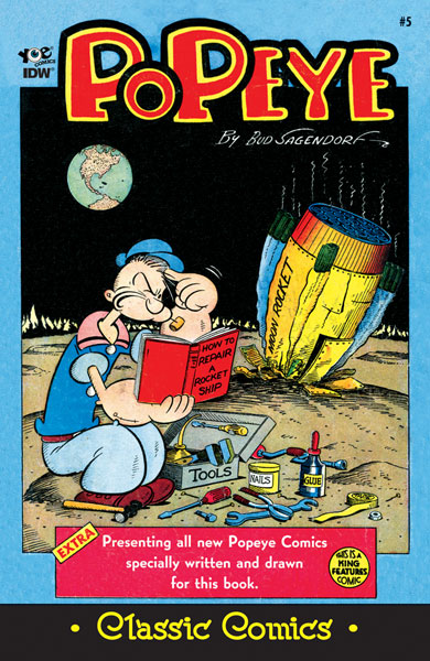 Classic Popeye #5