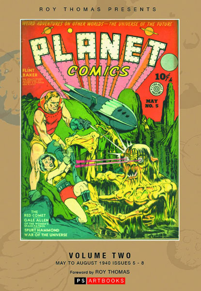 Fiction House Collected Works: Planet Comics Volume 2